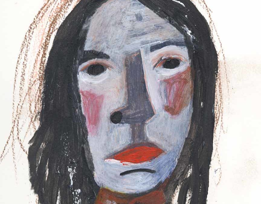 A Painting Emerges & Ode to Patti Smith